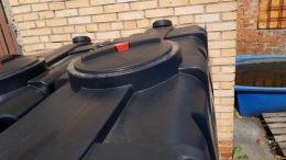 Бак для воды SK 2000 литров черный