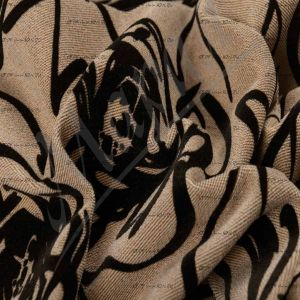 Марал, флок на велюре Adileta Rose