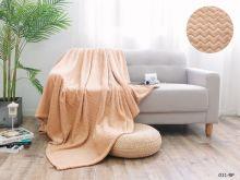 Плед велсофт Royal  plush 2-спальный 180*200  Арт.180/011-RP