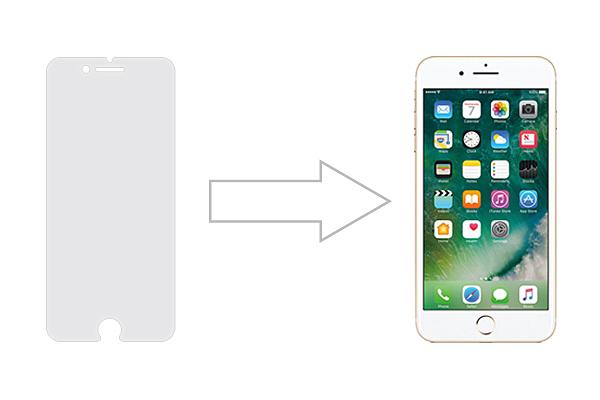 Защитное стекло Ainy GLASS для Apple iPhone 7 0.25mm