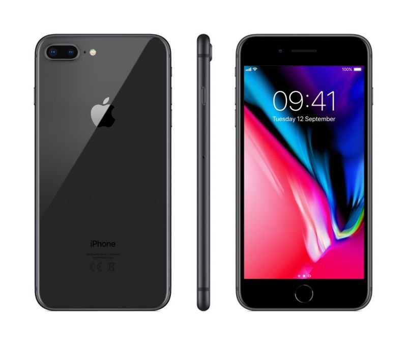 Apple iPhone 8 Plus 64GB LTE Space Gray (A1897) (MQ8L2RU/A)