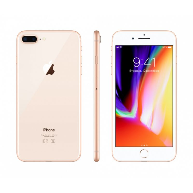 Apple iPhone 8 Plus 64GB LTE Gold (A1897) (MQ8N2RU/A)