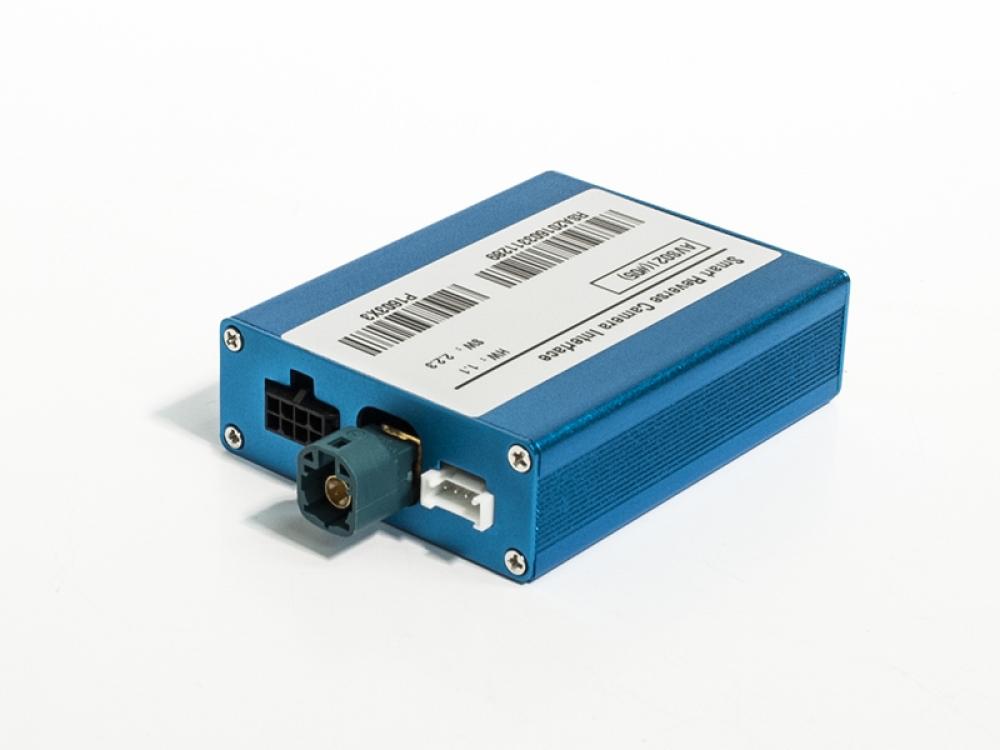 Видеоинтерфейс AVS02i (#05) для подключения камер переднего и заднего вида к заводскому ГУ для Audi / Skoda / Volkswagen