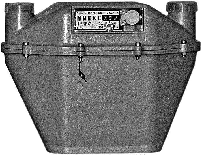 Счетчик газа СГМН – 1 G-6 (250 мм левый)