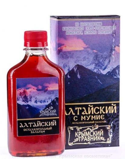Бальзам Алтайский с мумие Крымский Травник 250 мл