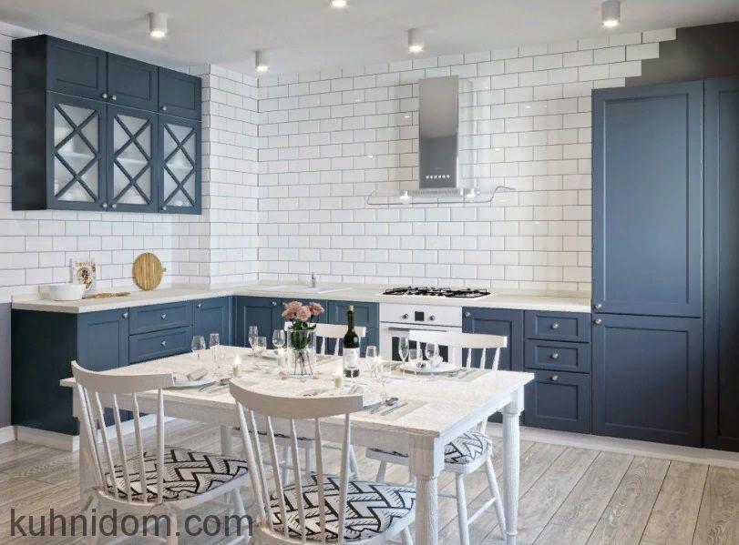 Кухня Treviolo Синяя