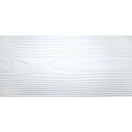 Сайдинг фиброцементный Cedral Wood C01 Белый минерал 3600х190х10 мм