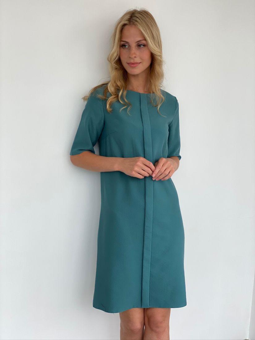 s2043 Платье из микровельвета