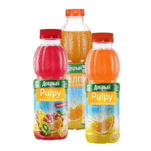 Напиток Палпи апельсин 500 мл