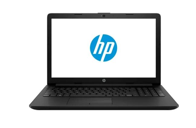 "Ноутбук HP 15-db0497ur (103M2EA) Черный (15.6""(1920x1080)SVA/ A4-9125(2.3ГГц)/ 4Гб/ 500Гб HDD/ Radeon R3 Graphics/ нет DVD/ Без ОС)"