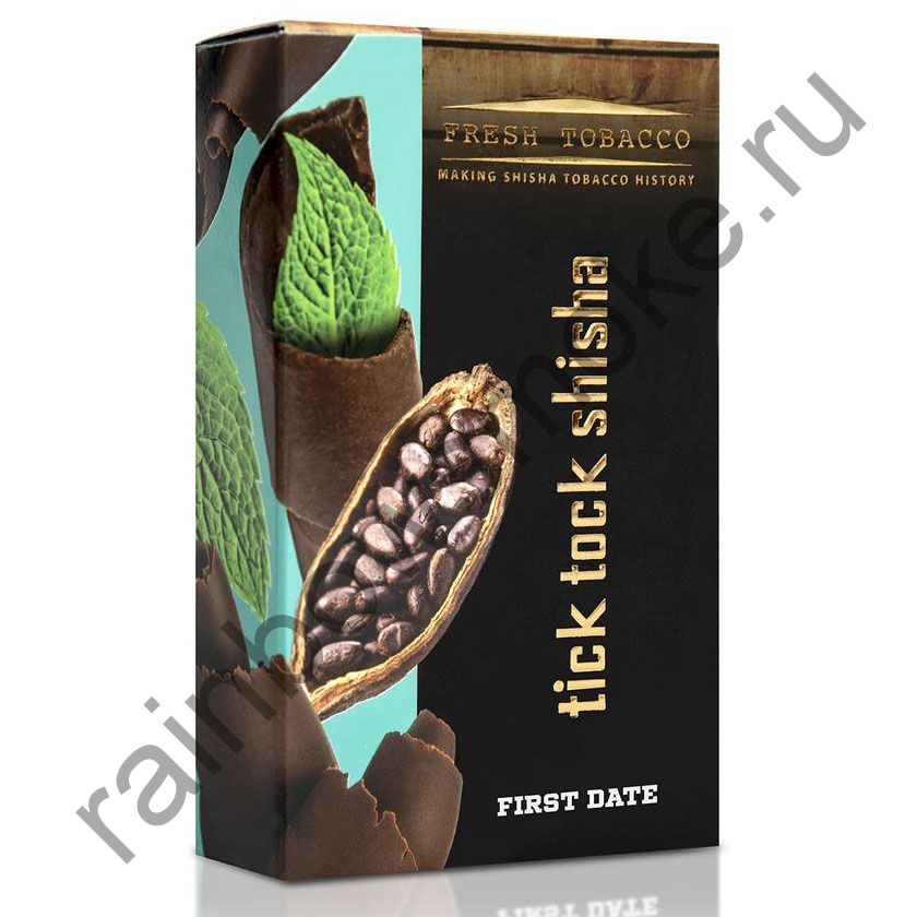 Tick Tock Hookah 100 гр - First Date (Chocolate & Mint) (Шоколад и Мята)