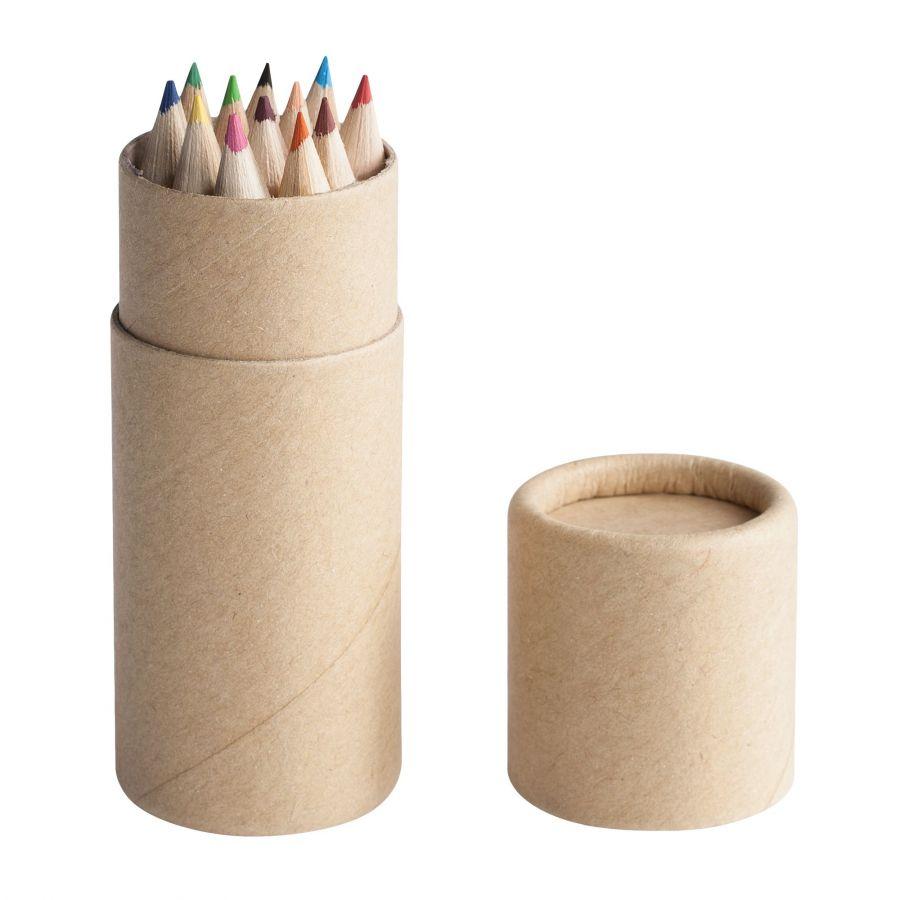 Набор цветных карандашей с вашим логотипом