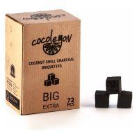 Уголь Coco Lemon Big Extra (25 мм, 72 кубиков)