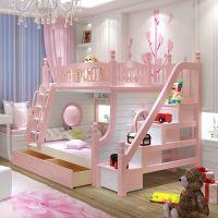 Кровать двухъярусная домик Принцесса Fantasy №IR14