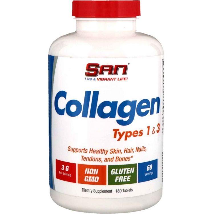 Коллаген 1 и 3-го типа от SAN Nutrition 180 таблеток