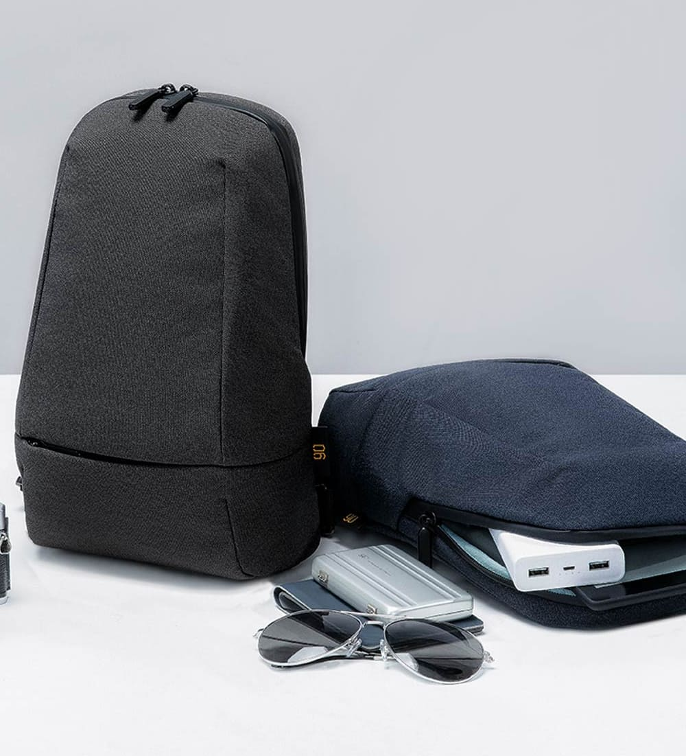 Рюкзак Xiaomi 90 Points Urban Multifunctional Chest Bag Black 90