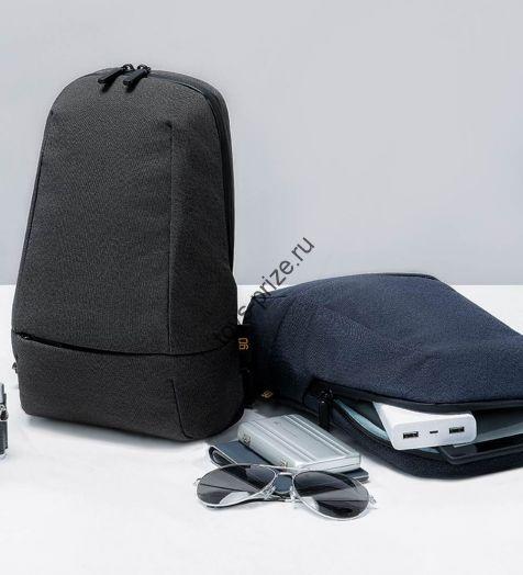 Рюкзак Xiaomi 90 Points Urban Multifunctional Chest Bag Black 90
