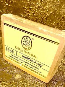 НАТУРАЛЬНОЕ МЫЛО КХАДИ САНДАЛ (KHADI SANDALWOOD SOAP), 125 гр