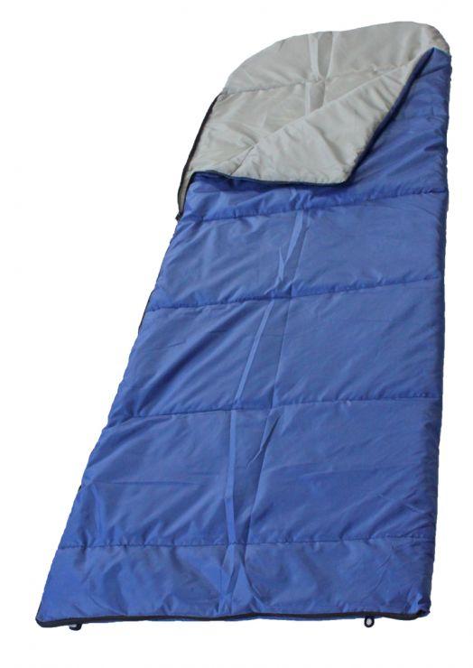 Спальный мешок Woodland Camping 200 до +5 синий