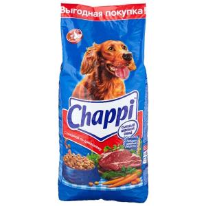 Корм для собак Chappi говядина 15 кг