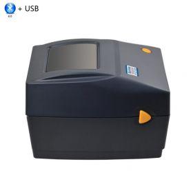 Термальный принтер этикеток Xprinter XP-460B черный (USB+Bluetooth)