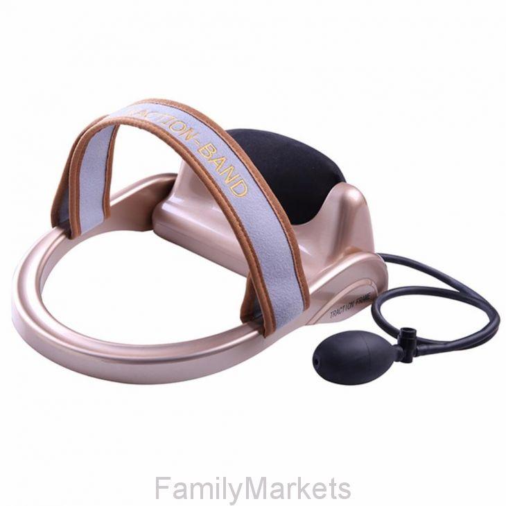 Бандаж-массажер для шейных позвонков Cervical Vertebra Traction Physiotherapy Instrument