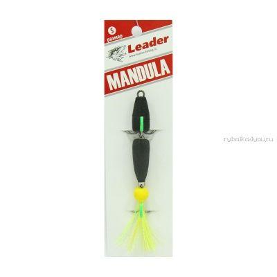 Купить Мандула классическая Leader Mandula/ размер M/ 90мм/ Цвет 000/ черный-черный-желтый