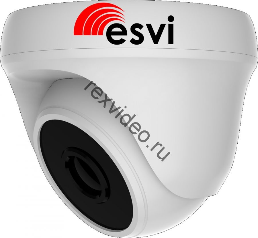 Внутренняя IP (2 Mp, Silicon Optronics F23 аудио вход)  видеокамера EVC-DP-F21-A (BV)