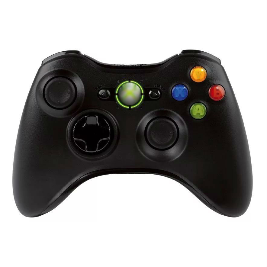 Беспроводной Bluetooth контроллер для Microsoft Xbox 360 Wireless Controller ( Черный )
