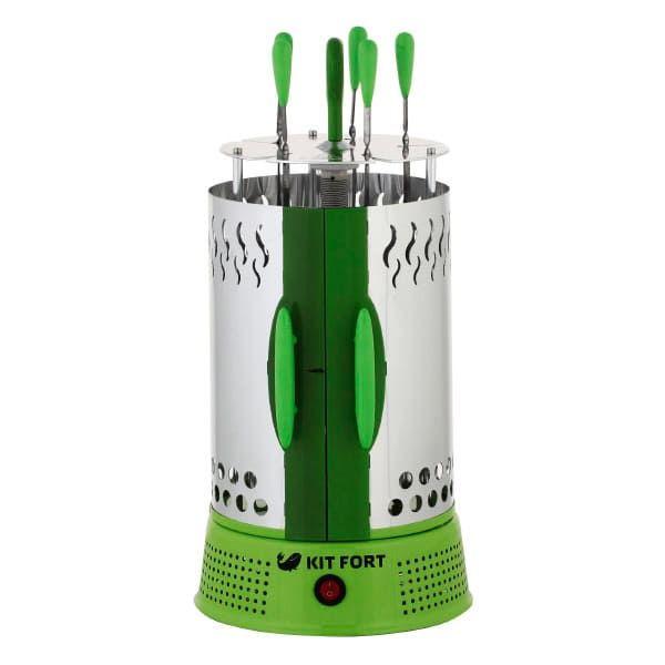 Электрошашлычница KitFort КТ-1402