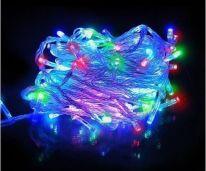Светодиодная гирлянда  нить, 100 LED, 8м., разноцветный