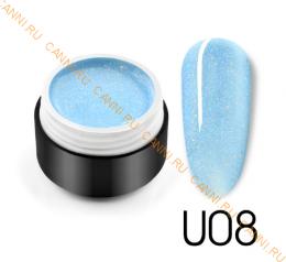 "Гель лак Venalisa ""Black Seashell Color Gel"" U08"