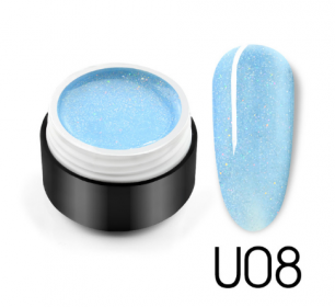 "Гель лак Venalisa ""Black Seashell Color Gel"" U08"