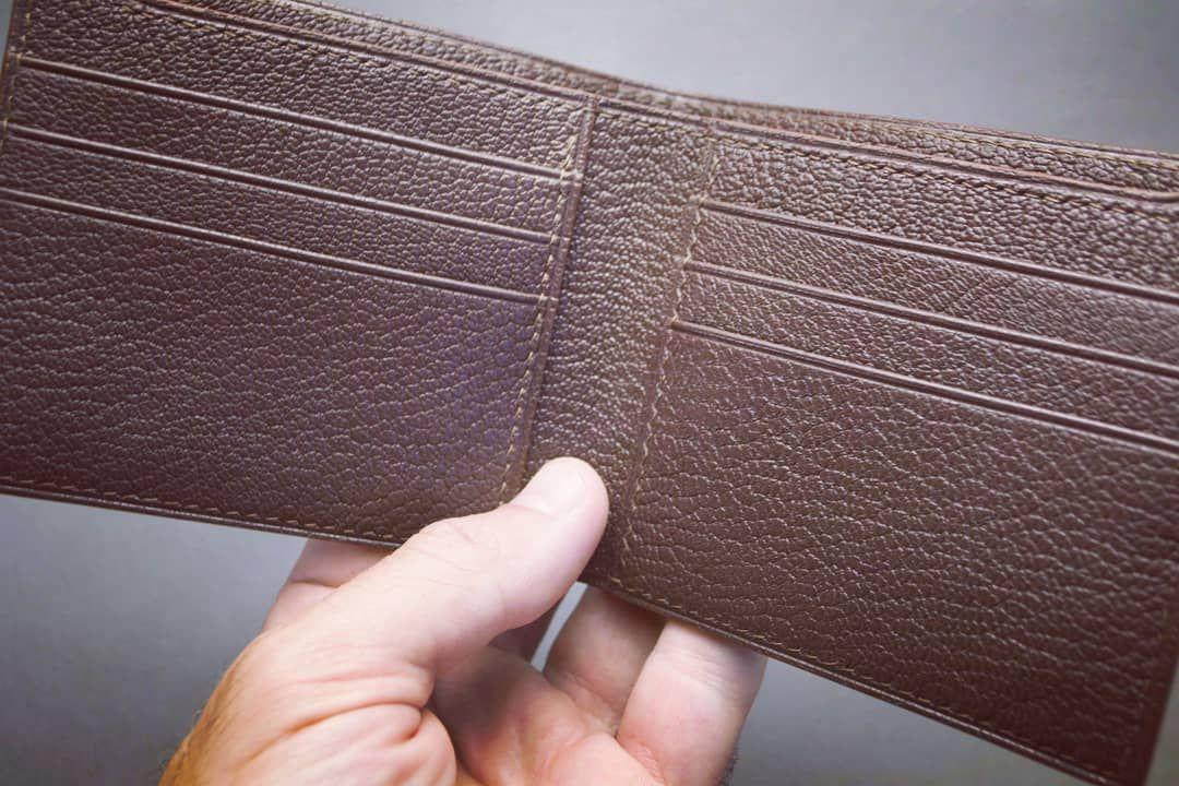 Бифолд из кожи на 6 карт