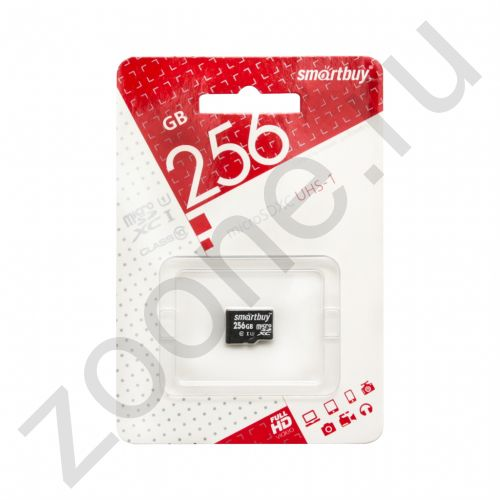 256GB microSDXC UHS-I Class10 без адаптера SMARTBUY