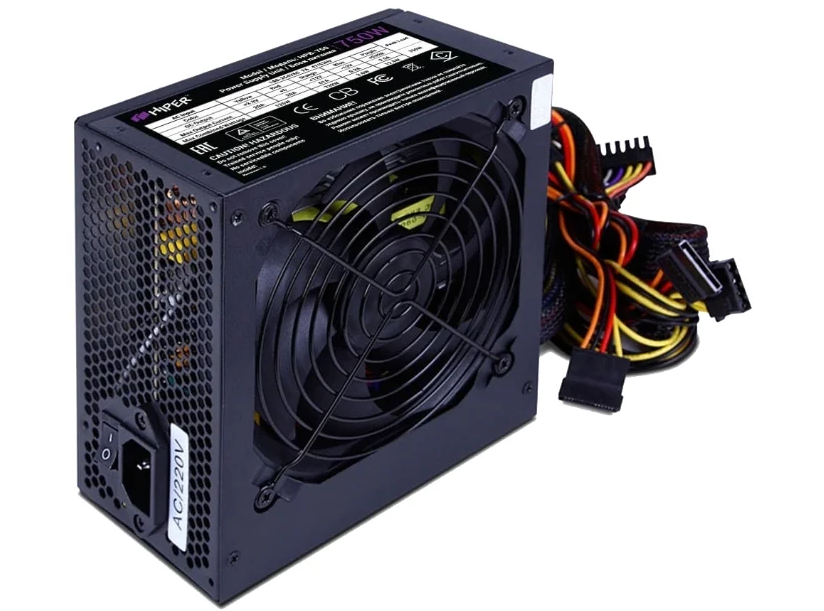 Блок питания HIPER HPB-750RGB BOX Черный