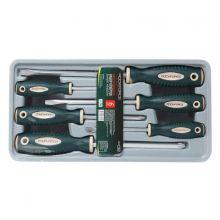 """Набор отверток магнитных """"Profi"""" S2, 6пр. (PH:1x75, 2x100, 3x150мм; SL 5.5х100, 6.5х150, 8х175мм)в лотке"""