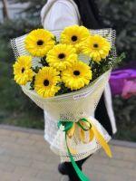 Букет из желтых гербер