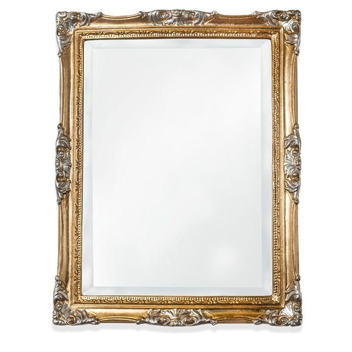 Зеркало Tiffany World TW00262oro/arg в раме 72х92 ФОТО