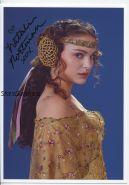 Автограф: Натали Портман. Звёздные войны
