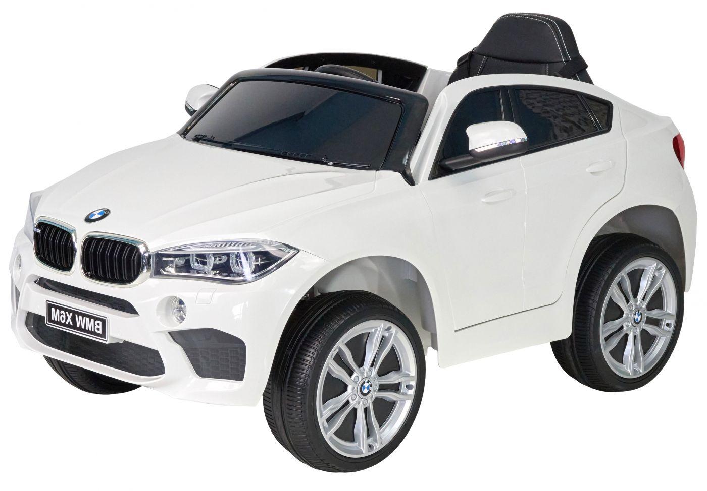 Детский электромобиль (2020) BMW X6M JJ29, Белый