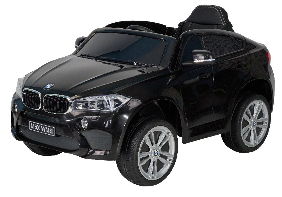 Детский электромобиль (2020) BMW X6M JJ29, Черный