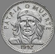 Куба 3 песо 1992 - Эрнесто Че Гевара