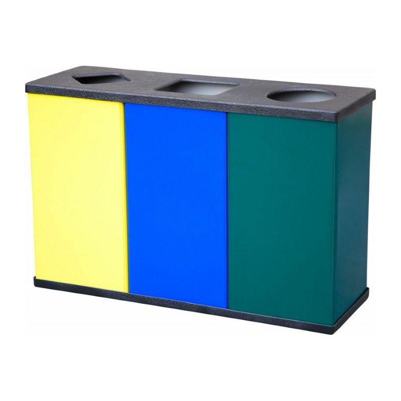 Урна для раздельного сбора мусора «Титан Трио»