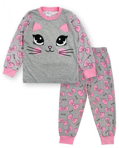 """Пижама для девочки 3-7 лет Bonito Animals """"Cat"""""""