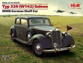 Typ 320 (W142) седан, Германский штабной автомобиль  II МВ