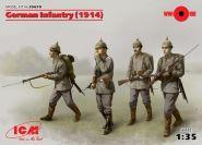 Германская пехота (1914 г.), (4 фигуры)