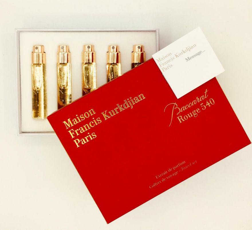 Подарочный набор Kurkdjian Baccarat Rouge 540 Extrait De Parfum 5х11 мл