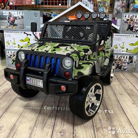Внедорожник jeep T008T камуфляж