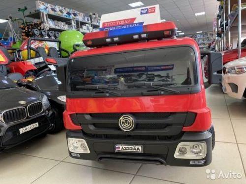 Электромобиль пожарная машина